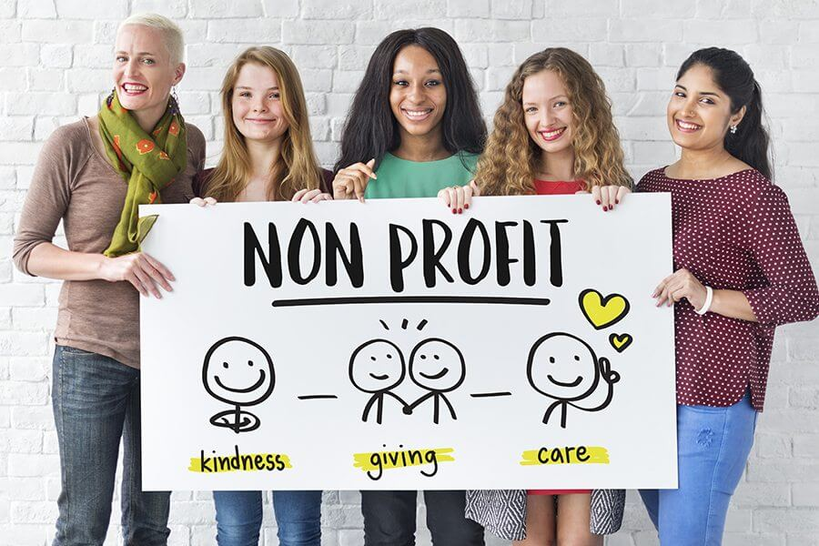 how do nonprofits make money